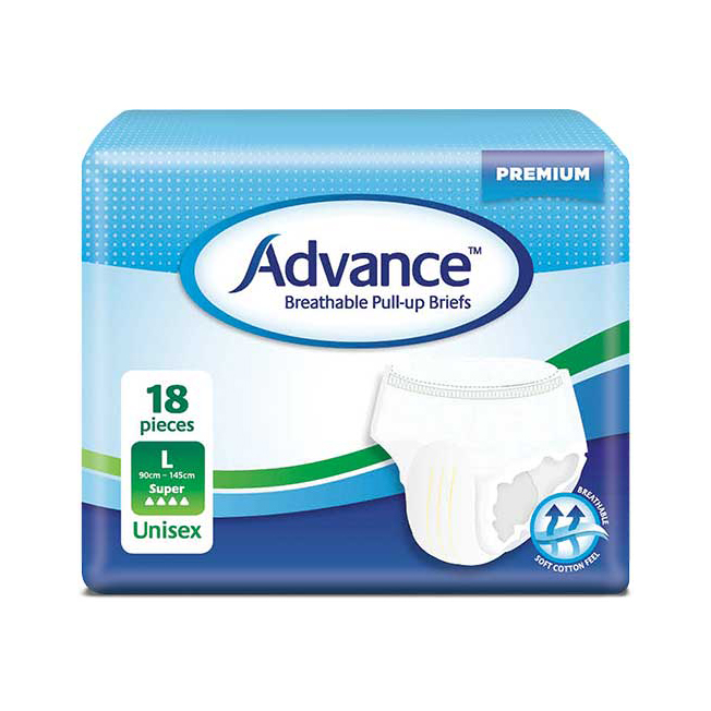 Advance Breathable Pull Up Briefs
